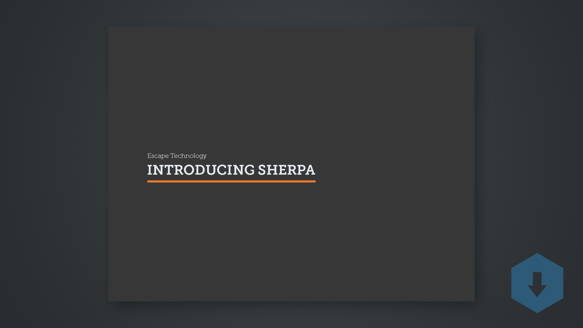 introducing sherpa thumbnail