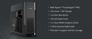 Supermicro stellt seine AMD RYZEN™ THREADRIPPER™ PRO Workstation